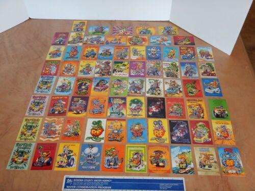 ORIGINAL 1996 MOONEYES RAT FINK TRADING CARD SETS 1, 2, 3, 4  ED BIG DADDY ROTH