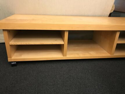 IKEA shelves wall unit TV Unit. White | Bookcases & Shelves ...