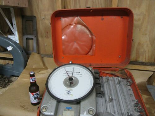 Cleco H-1650 Dial,Hand Torque Tester,w/case,To 150 Ft.Lbs~GD+😎😎😎#CL9.21.21