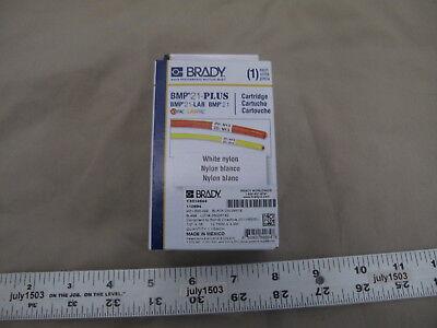 1 New Brady Label Cartridge M21-500-499 Black On White Nylon 12 X 16 Bmp21