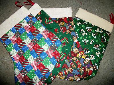Handmade Christmas Stockings Small  - Small Christmas Stockings
