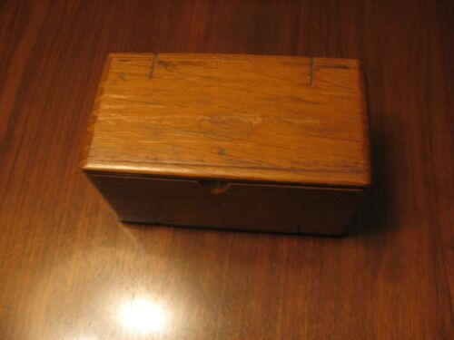 Antique Singer Treadle Sewing Machine 1889 Puzzle Box with Attachments