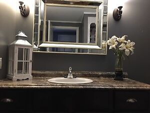 Bathroom COUNTERTOP with SINK & FAUCET included