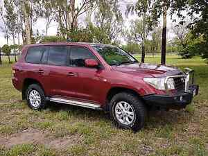 2007 Toyota Landcruiser GXL auto 4x4 Emerald Central Highlands Preview