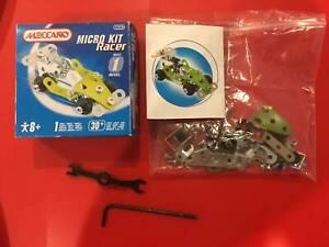 2 x Meccano Micro Sets - F1 & Racer