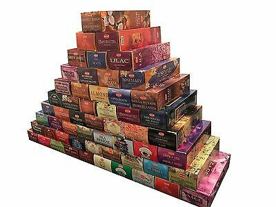 Hem Bulk Incense Sticks Choose from 80 fragrances Hand Rolled Made in India New ()