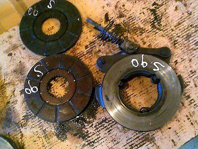 Massey Ferguson Super 90 Diesel Tractor Mf Disk Disc Brake Brakes Discs Disks