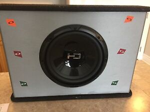 Subwoofer with all wires