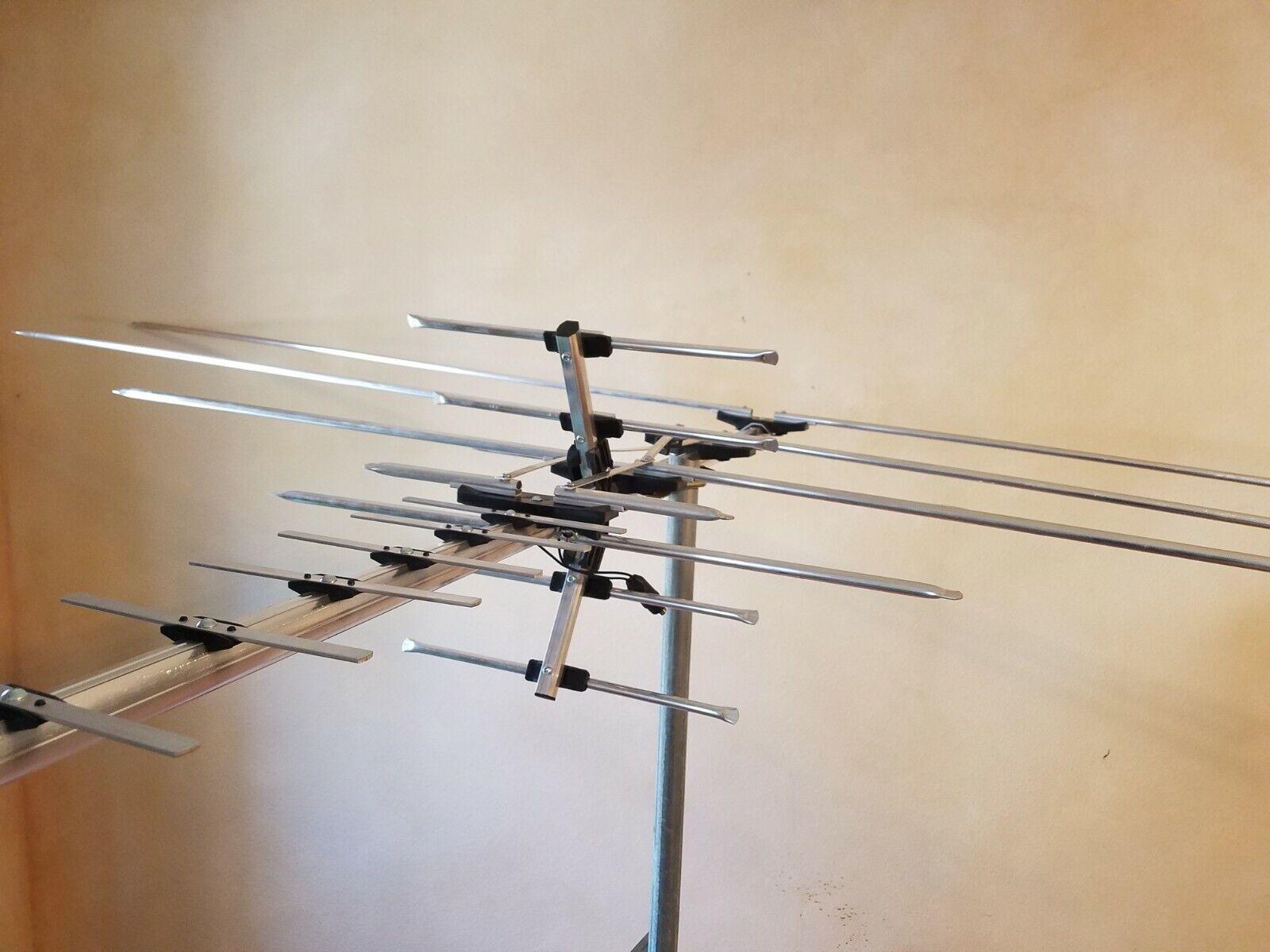 OUTPERFORMS 990 MILE TV ANTENNAS HDTV Digital UHF/VHF FM Radio Long Range