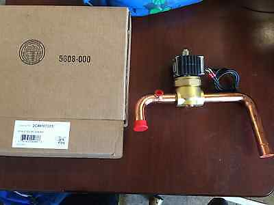 Sporlan 12 Volt Cycle Solenoid Valve Assembly 78 With Omkc-2 Coil Xya-8