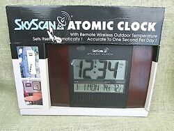 SkyScan Atomic Clock 86722 MAH NEW IN BOX