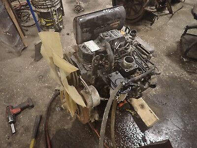 Yanmar 3tnv84 Diesel Engine Runs Video John Deere Mower Tractor