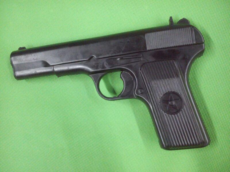TT33 pistol training gun prop rear front sight Tokarev KGB WWII soviet officer