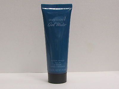 Cool Water Davidoff For Men 2.5 oz After Shave Balm Unboxed New