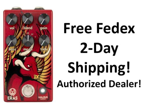 New Walrus Audio Eras Five-State Distortion Guitar Effects Pedal
