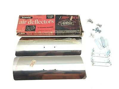 50s 60s Station Wagon Rear Window Roof Air Deflectors Shields Vintage Chevrolet
