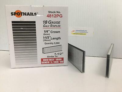 Spot Nails 4812PG L/90 18 Gauge 1/4