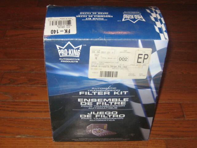 Auto Trans Filter Kit Pro-King FK140, Fits Fram FT1057C