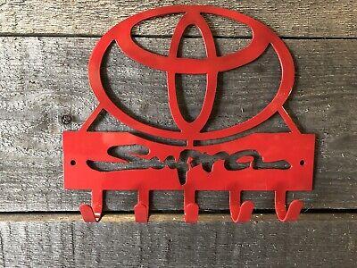 Toyota Supra key hook/ Sign wall art-CNC cut for garage or shop
