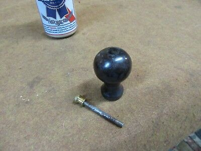Stanley No 4 5 Plane Knob Only Tall Rse Wood 1949 1958 Nice     S6 7 18