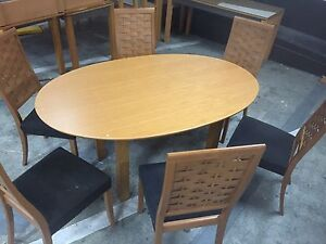 Dining table & chairs Carlton Melbourne City Preview