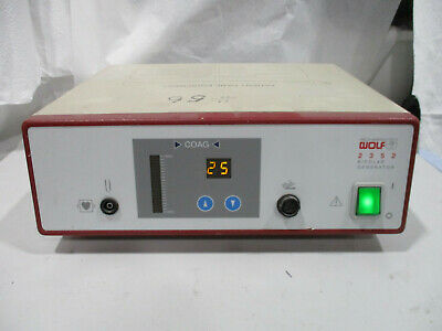 Wolf 2352 Electrosurgical Esu Bipolar Generator