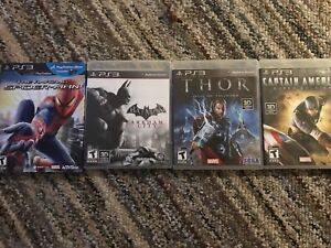 Marvel and dc comics PS3 games $10 each obo