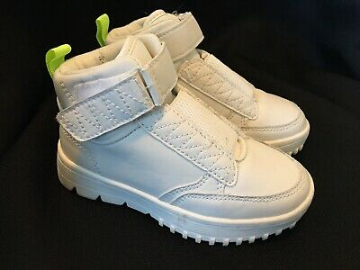 ZARA Therapeutic Kids White Sneakers Shoes Size 26/27 - Memory Effect