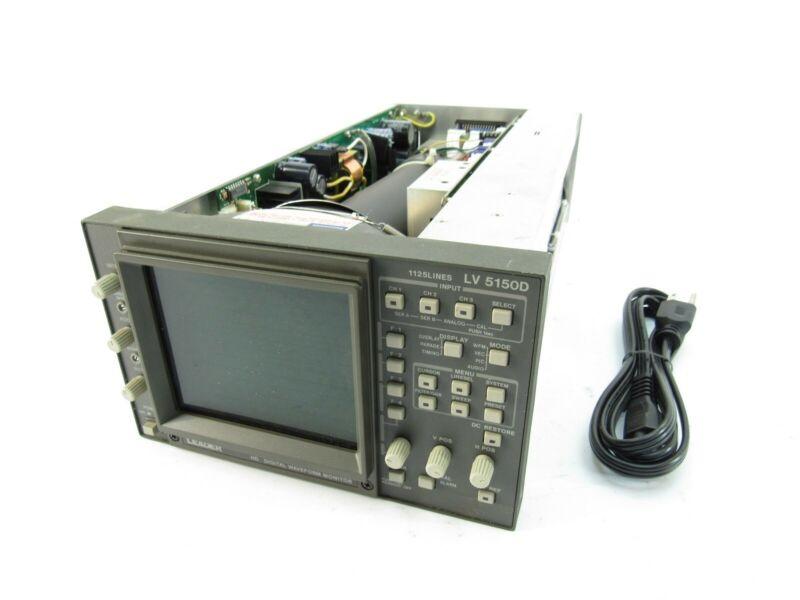 Leader LV 5150D 720p/1080i HD Digital Waveform Monitor 1125Lines (No Enclosure)