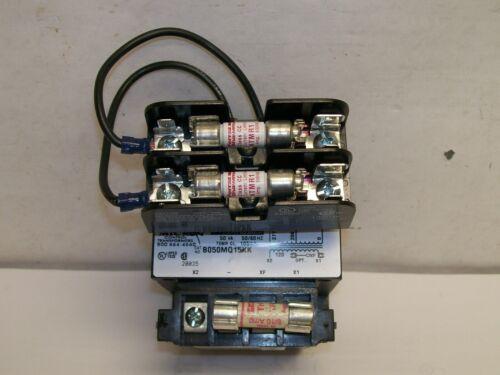 NEW TAKEOUT B050MQ15XK 208-277V to 120V Control Transformer 50VA With FUSING