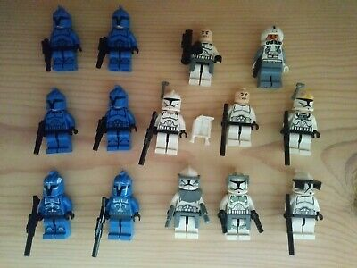 Lego Star Wars Clone Trooper Lot