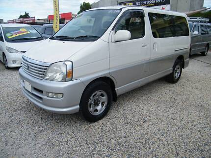 2001 Toyota Hiace Regius (#6855) 2,7L 4WD