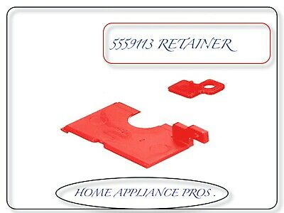 GENUINE BISSELL Red Retainers for Upright Carpet Cleaners # 5559113