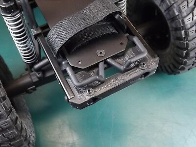 - RCDM Rear Bumper MOUNT For The Axial SCX10 Version I And II Chassis / 43mm CTC