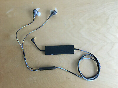 Bose QuietComfort 20i Acoustic Noise Cancelling Headphones Gray QC20i for Apple