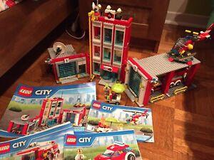 LEGO CITY : caserne de pompier