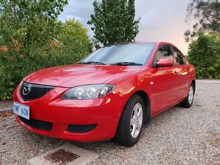 2006 Mazda 3 Maxx BK Series Manual Sedan Capital Hill South Canberra Preview