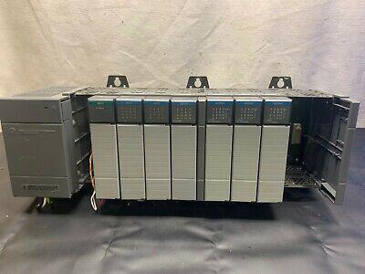 Allen Bradley Slc 500 9 Slot Power Supply Cat 1746-p2 Ser C