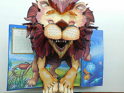 Pair CHRONICLES OF NARNIA 1st ed 7 books 778 pages + popup book CS LEWIS 12 pics, used for sale  Surrey