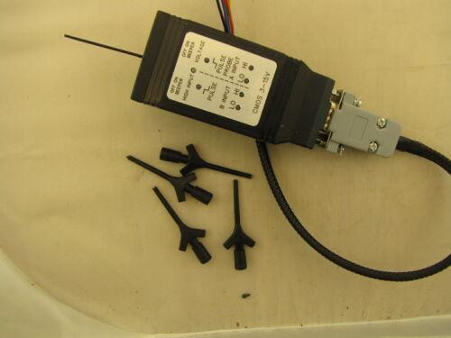 3.3V Cmos Logic Probe Dual Input 3-15V Operation With Pulse LEDs and Pulse Audio