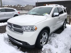 2012 Dodge Durango Citadel, Navi, Leather, Sunroof, 3rd Row, 4x4