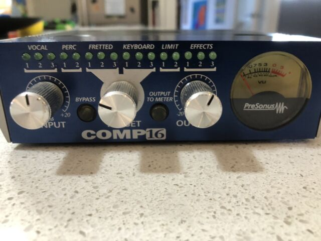 Presonus Comp16 compressor with presets  | Other Musical