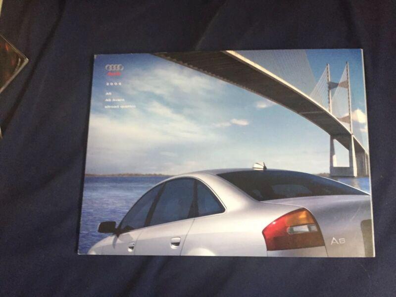 2004  Audi A6 A6 Avant Allroad Quattro USA Market Brochure Catalog Prospekt