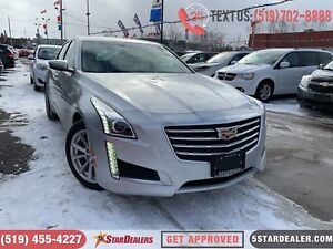 2017 Cadillac CTS 2.0L Turbo | LEATHER | CAM | HEATED SEATS