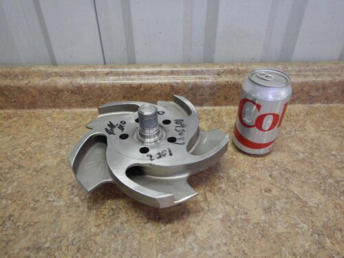 """NEW Flowserve 8 1/2"""" Pump Impeller 1093047 CN7M, A-20 Stainless Steel SS 5 Vane"""