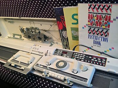Brother Kh965 knitting machine computerised complete shipping worldwide