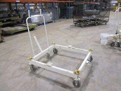 Pallet Transport Carts Tug Trolley Carts 44 X 48 Heavy Duty Steel Used