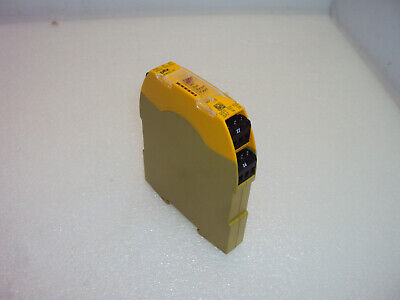 Pilz 750103 Safety Relay Module Pnoz-s3 24vdc Dpst 2 No
