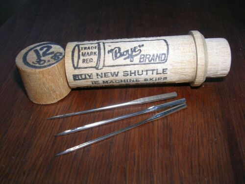 WHITE VS Original Boye 20x1 Needles Antique Sewing Machine Treadle New/Old Stock