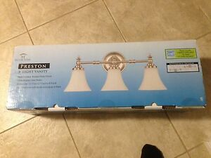 New 3-Light Vanity Fixture